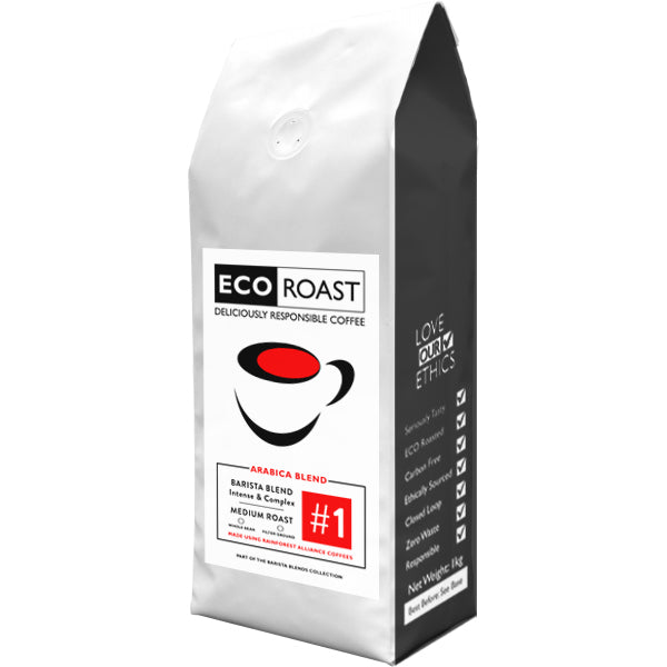 1kg Eco Roast Blend #1 - Filter Ground - Javagifts