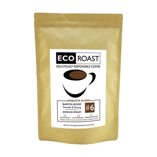 250g Eco Roast Blend #6 - Whole Bean250 - Javagifts