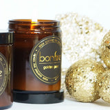Bonfire Candle Co 150g Golden Pear Christmas Candle