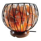 Salt Lamp Small Carved Fire Bowl