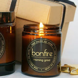Bonfire Candle Co Morning Grind 150g Soy Christmas Candle