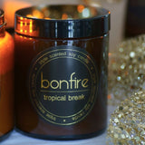 Bonfire Candle Co 150g Tropical Break Soy Christmas Candle