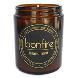 Bonfire Candle Co Soy Wax Island Mist Scented Candle