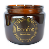 Bonfire Candle Co Soy Wax Sweet Slice Scented Candle