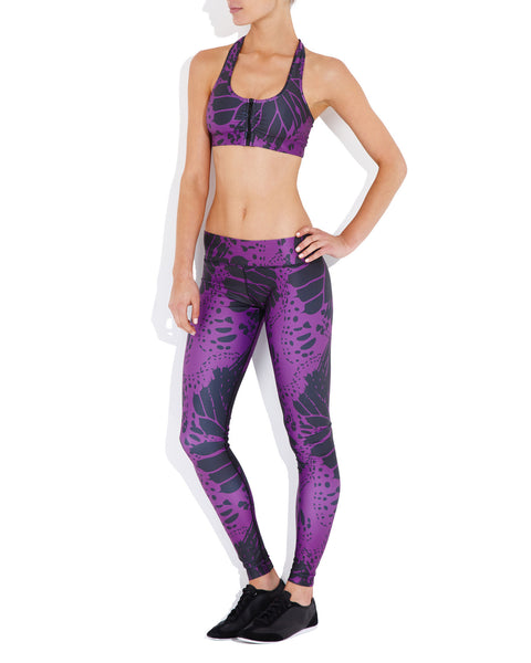 5447a0f978bf5a Rockell - Brazilian Butterfly - Elite Compression Tights – Vie Active  Development