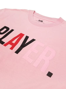 Player Tee Pink