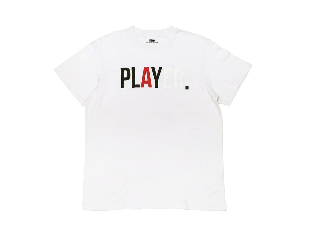 Player Tee White