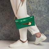 Elizabeth Clutch Green