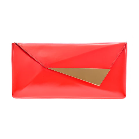 Elizabeth Clutch Red