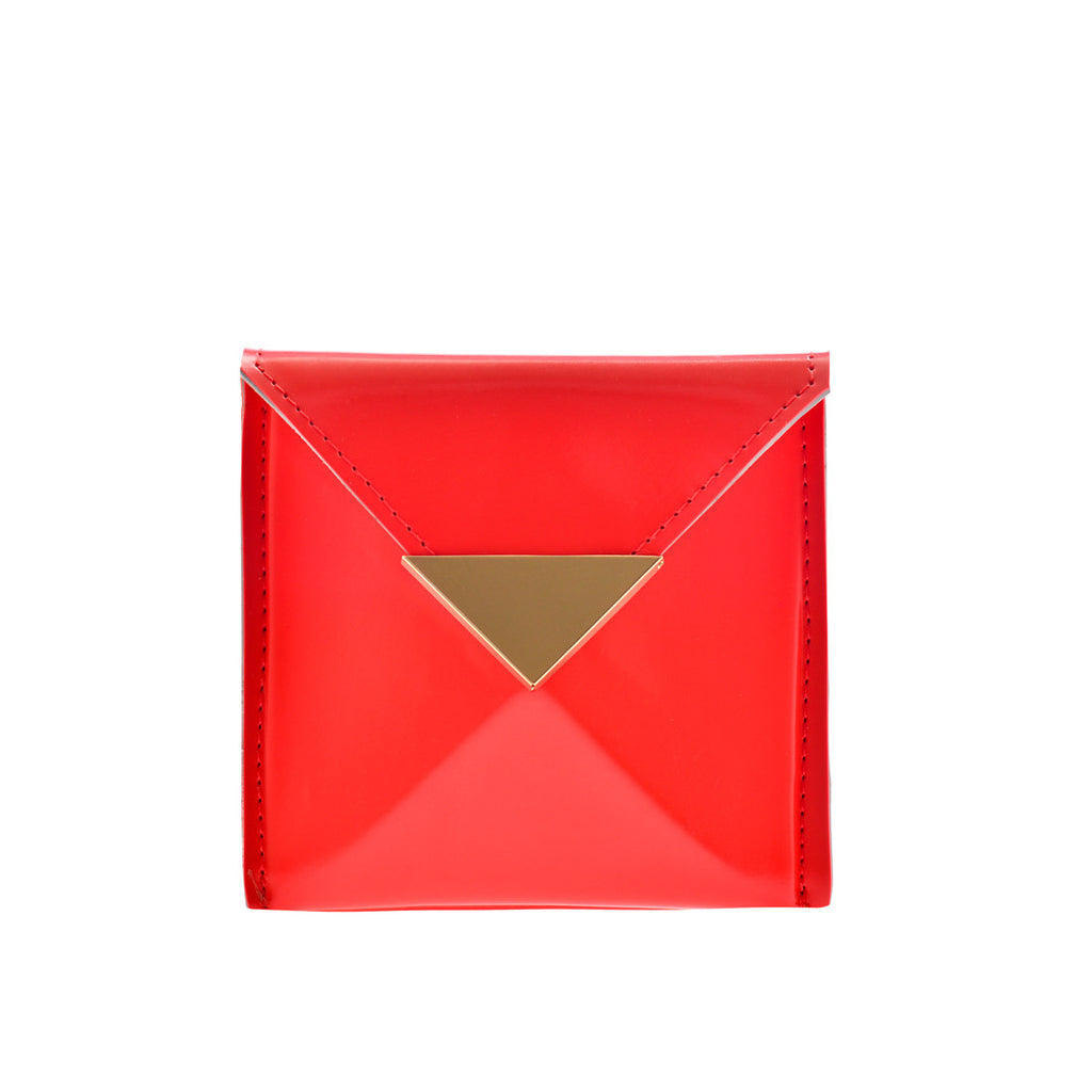 Small Billie Wallet Red