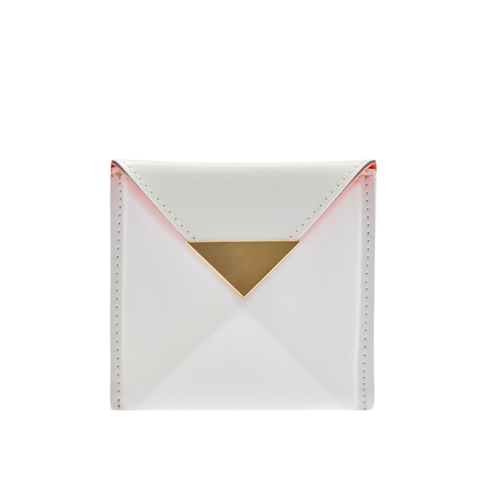 Small Billie Wallet White