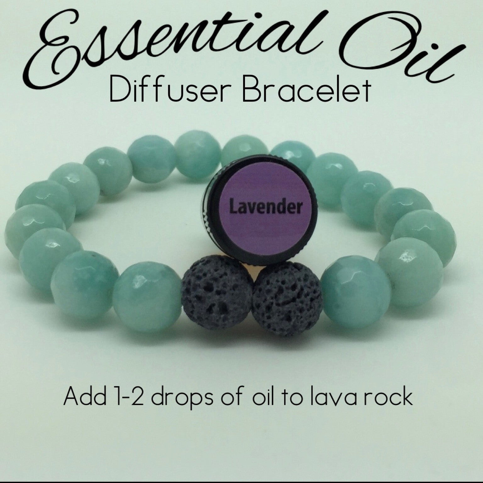 Essential Oil Diffuser Bracelet Amazonite