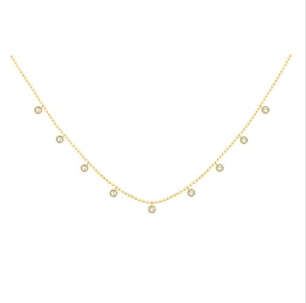 Diamond Cleopatra Necklace 1.0ctw