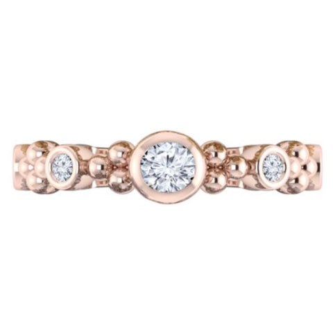 Diamond Stackable Ring 14k 0.36ctw
