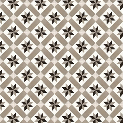 Expodecor Mosaic Beige Cement Tiles Carpet