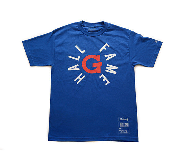 Hall of Fame | G Tee - Royal Blue