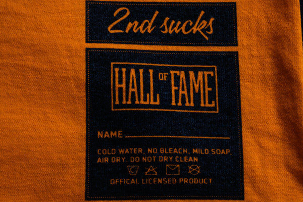 Hall of Fame | G Tee - Orange