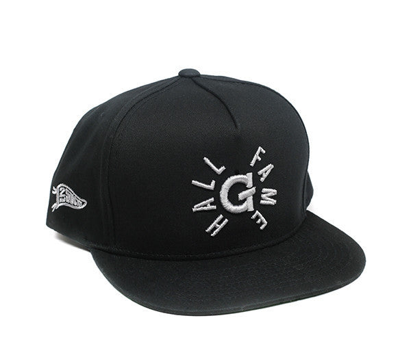 Hall of Fame | G Snapback - Black