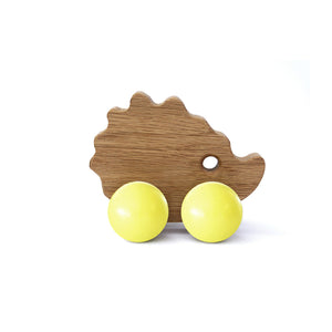 Baby Hedgehog Wooden Toy - Hop & Peck