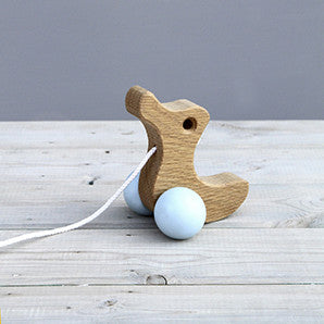 Duckling Pull-Along Wooden Toy