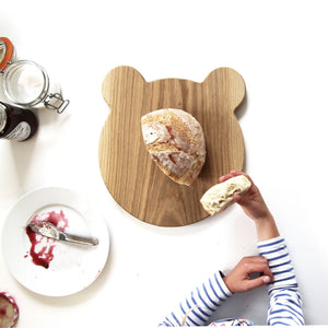 Wooden Big Bear Platter & Serving Board - Hop & Peck