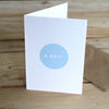 Baby Boy Card - Hop & Peck