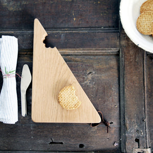 Wooden Cheese Bite Serving Board - Hop & Peck