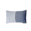 Pair of Two tone Denim cushions - Hop & Peck
