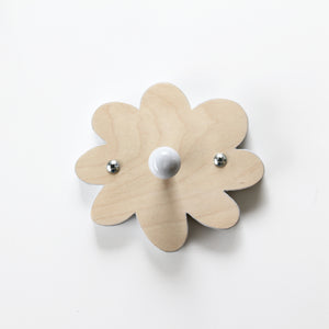 Wooden flower peg