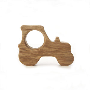 Hop and Peck Wooden Kids Tractor Egg Cup / holder