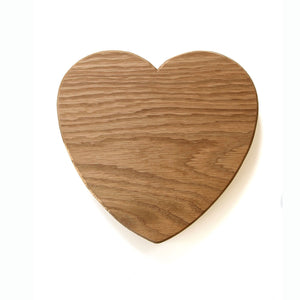 Heart Chopping Board (Large) - Hop & Peck