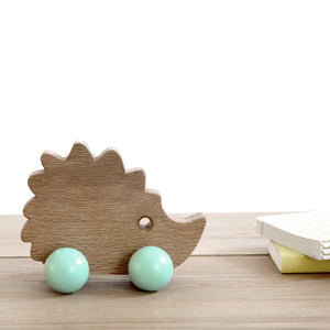 Mother Hedgehog Wooden Toy