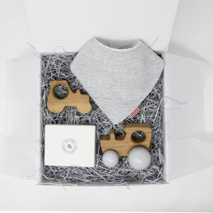 Little Tractor Breakfast & Play Gift Box