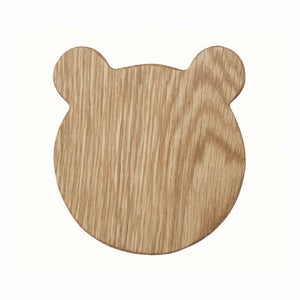 Wooden Bear Treat Board (Chopping & Serving board) - Hop & Peck