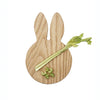 Wooden Bunny Ears Treat Board (Chopping & Serving board) - Hop & Peck