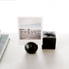 Wooden table dot Card Holder - Black