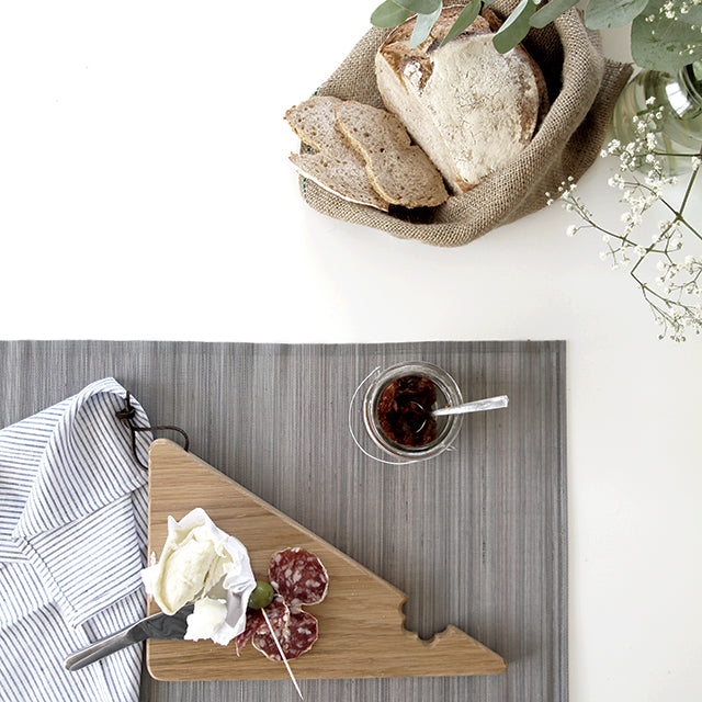 Wooden Cheese Bite Serving Board