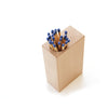 Beech Block - Long match & pencil holder