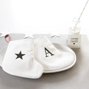 Mini Christmas personalised stocking - surprise and delight!