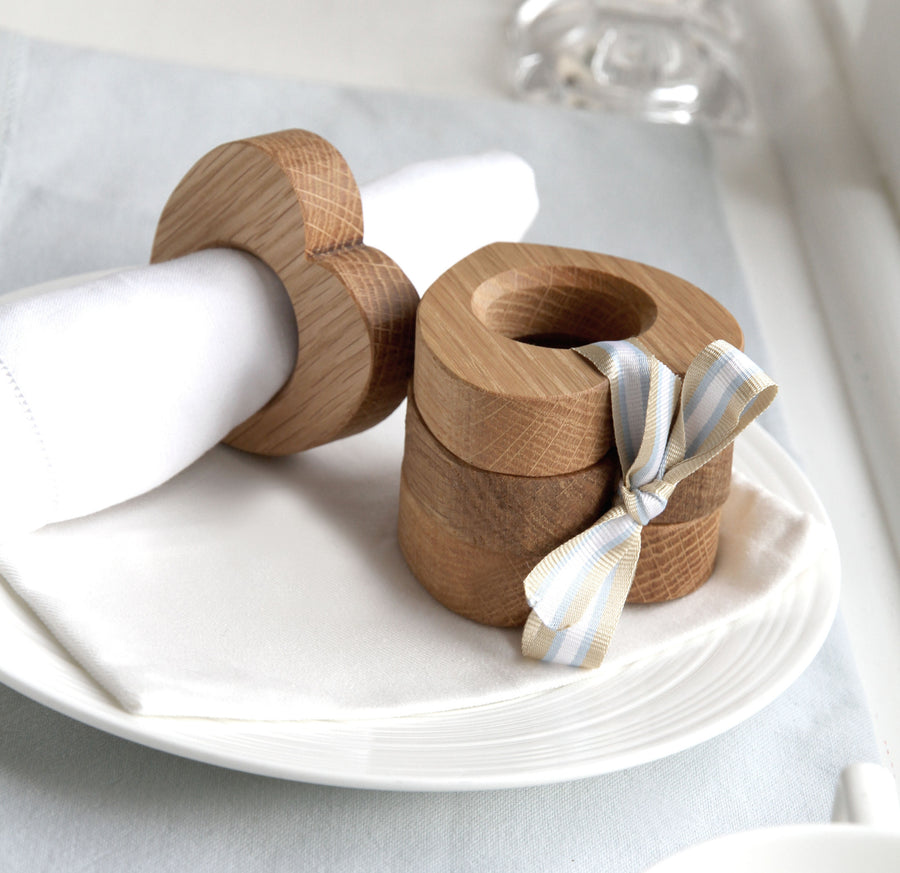 Heart Napkin Rings (Set of Four) - Hop & Peck