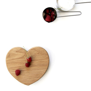 Heart Chopping Board (Small) - Hop & Peck