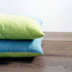 Colour Pop Cushion - Citrus & Turquoise - Hop & Peck
