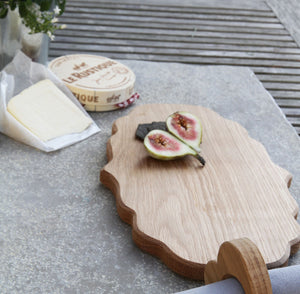 Small Oak Platter Board - Hop & Peck