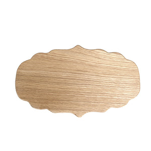 Small oak platter board