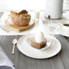 Wooden Heart Egg Cups (Pair) - Hop & Peck
