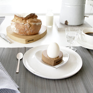 Wooden Heart Egg Cups (Pair)
