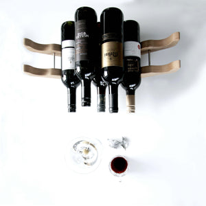 Oak Wine Rack - Holds 1 - 12 bottles