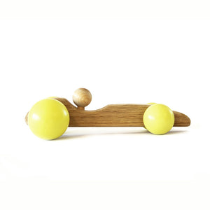 British Racing Car Wooden Toy - Hop & Peck