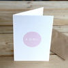 Baby Girl Card - Hop & Peck