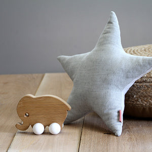 Mother Elephant Wooden Toy - Hop & Peck